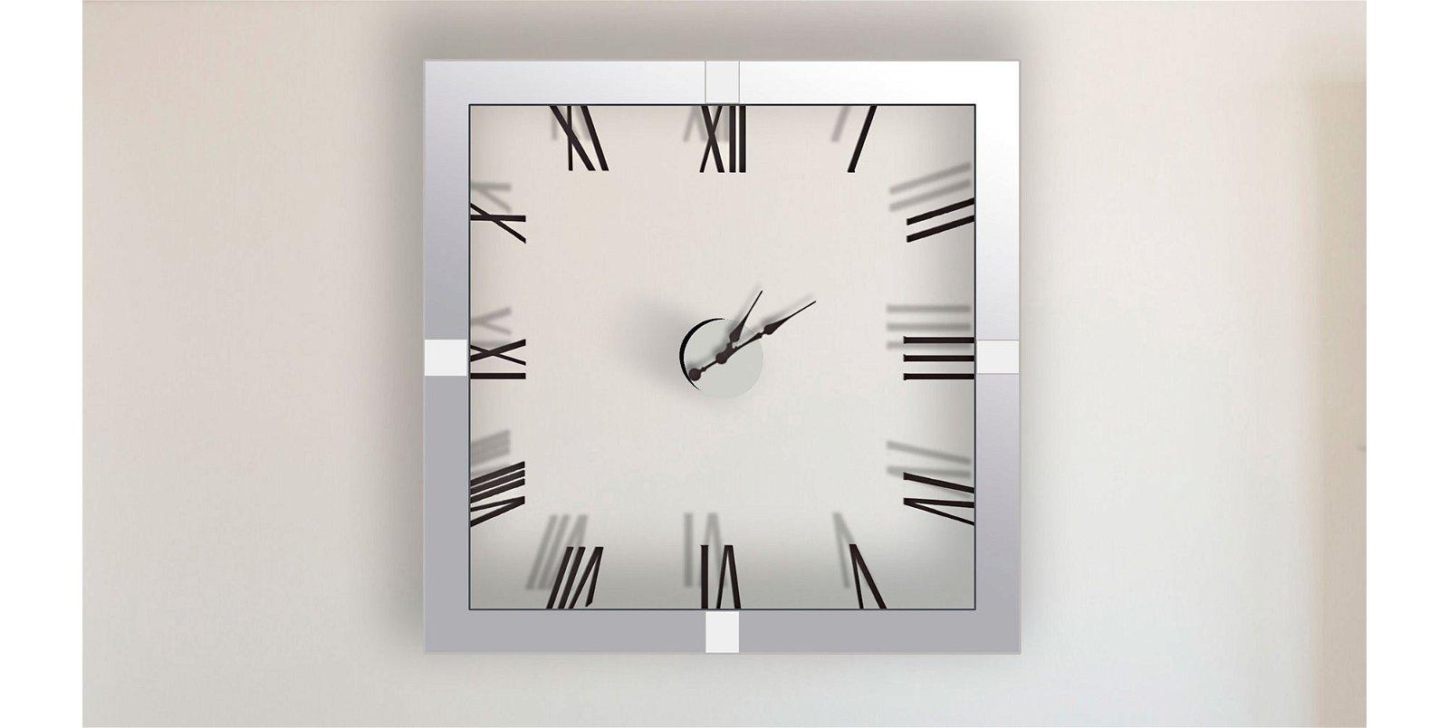 Reloj decorativo cuadrado Athenas