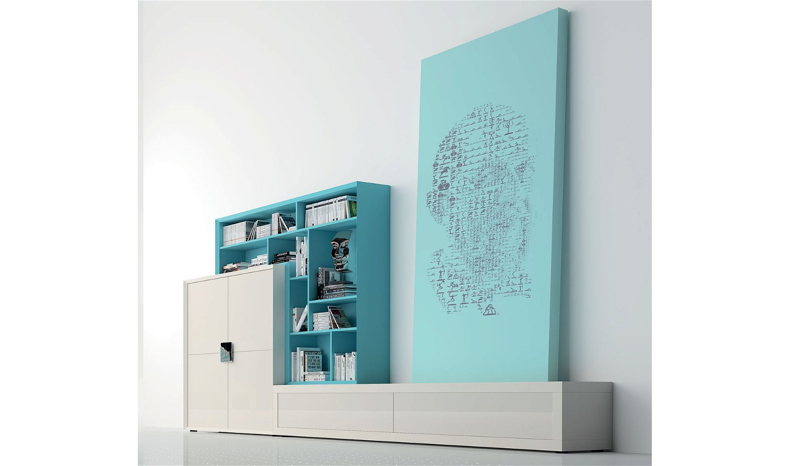 Salón moderno cluster Plain