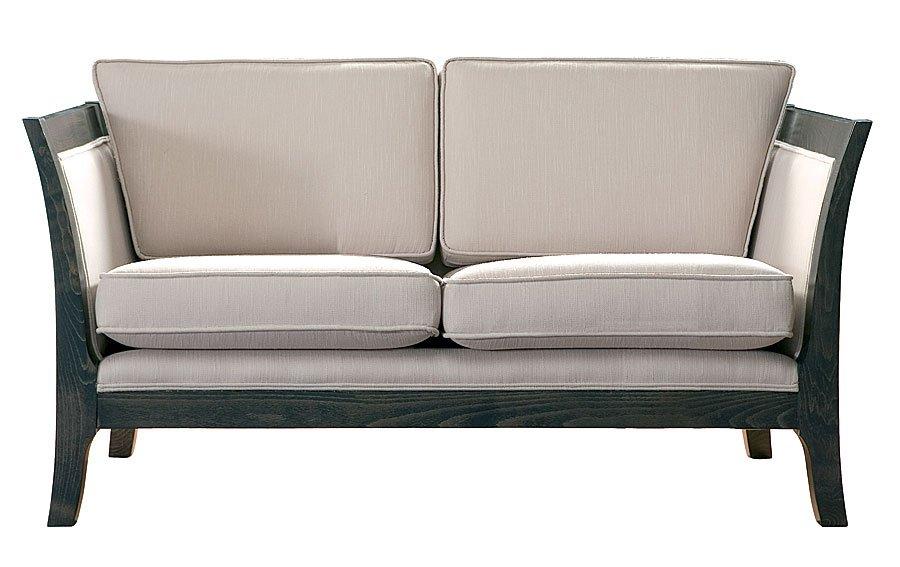 Sofa 2 plazas colonial Tapizado blanco