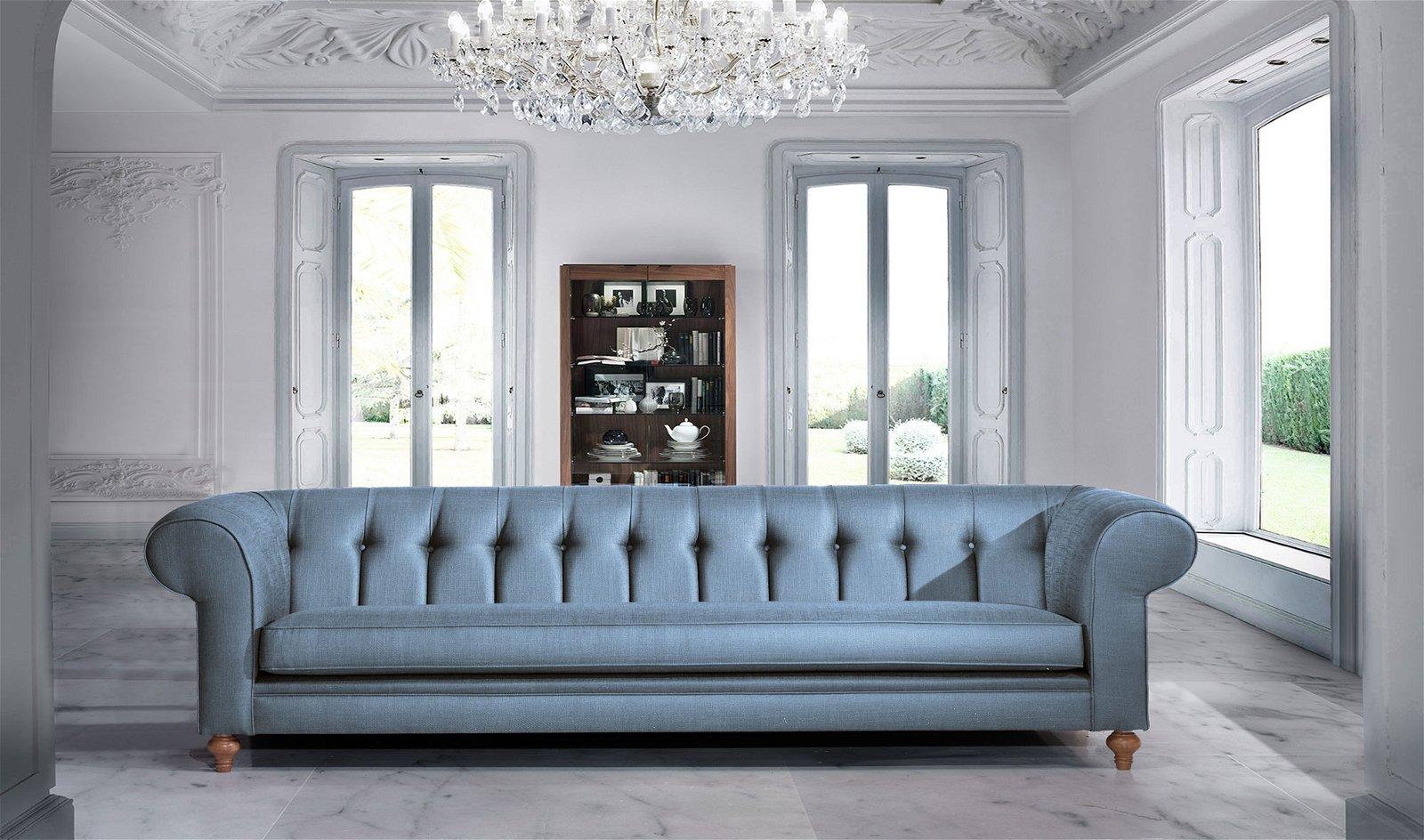 Sofá clásico chester edición especial Serenity