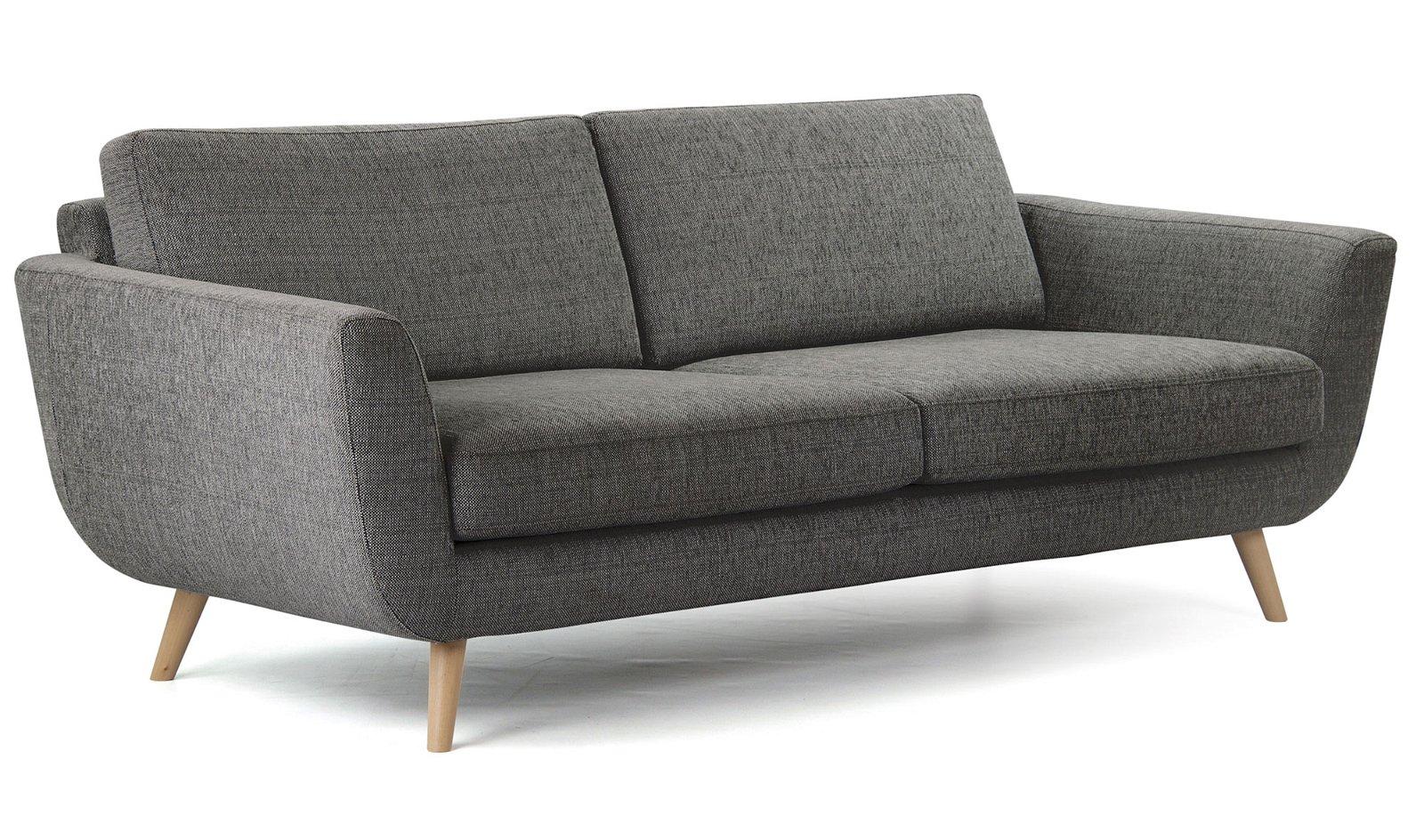 Sofá gris claro nórdico Alifan