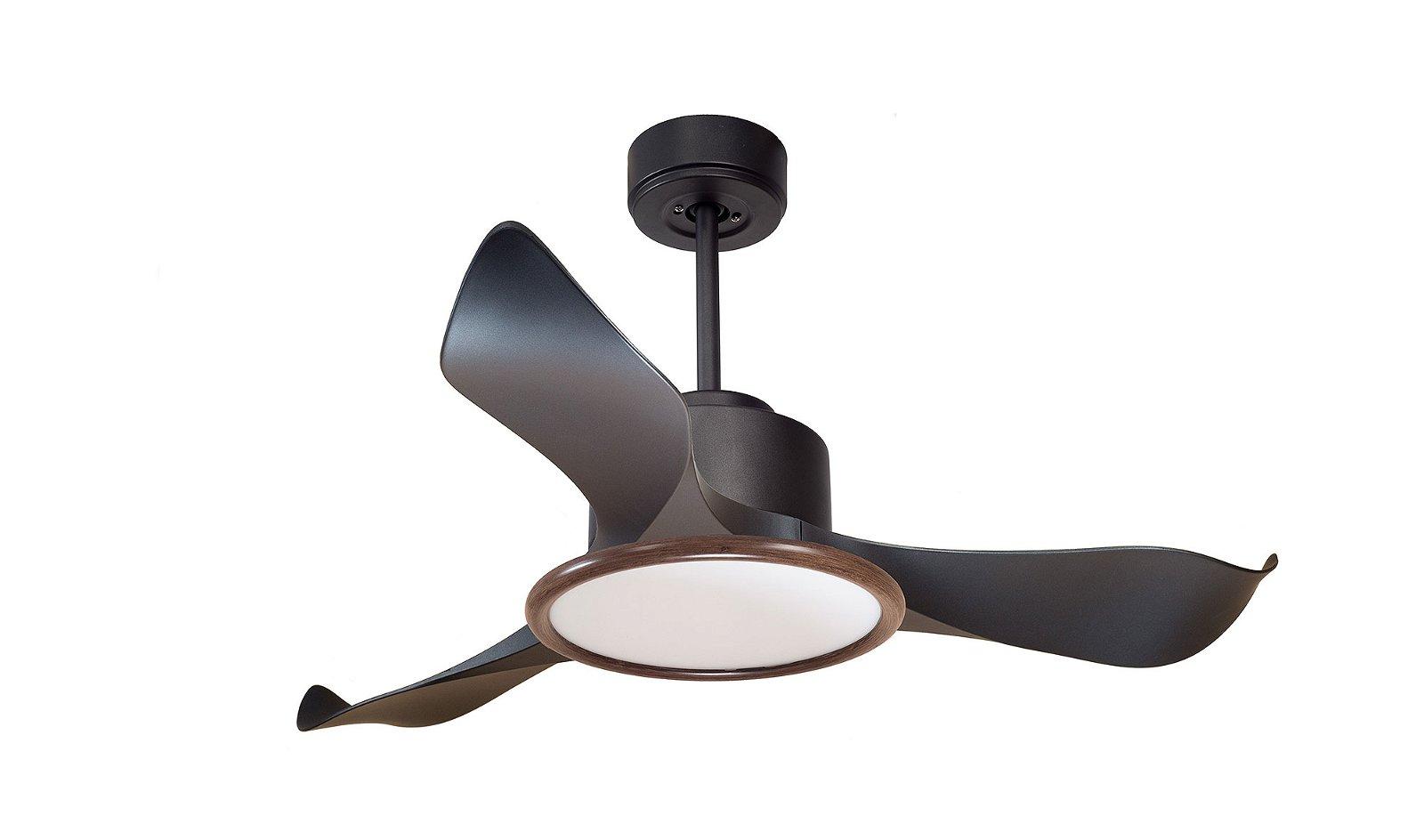 Ventilador Obi 3 aspas con luz