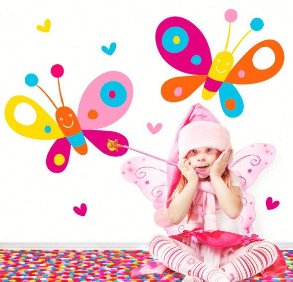 Vinilo happy butterflies