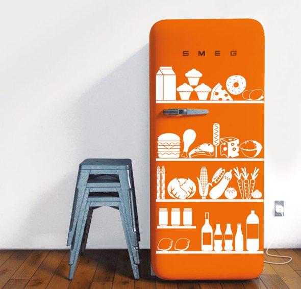 Vinilo my fridge