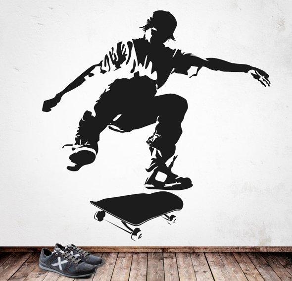 Vinilo the skater