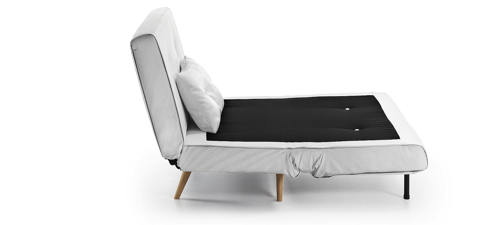 Sofá cama blanco Moderno Tupana
