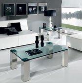 Mesa de centro y cristal Visión
