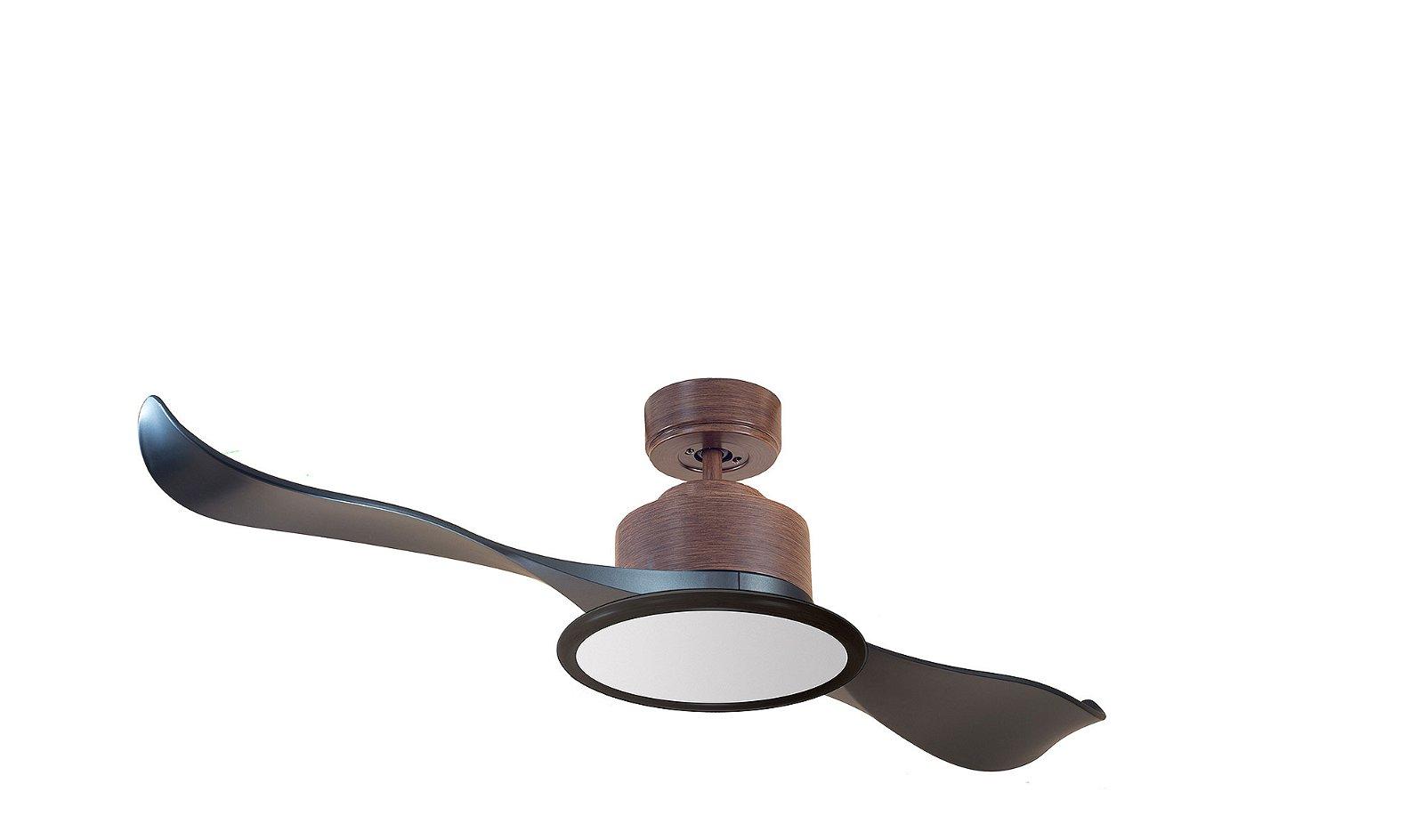 Ventilador Yangtsé 2 aspas con luz