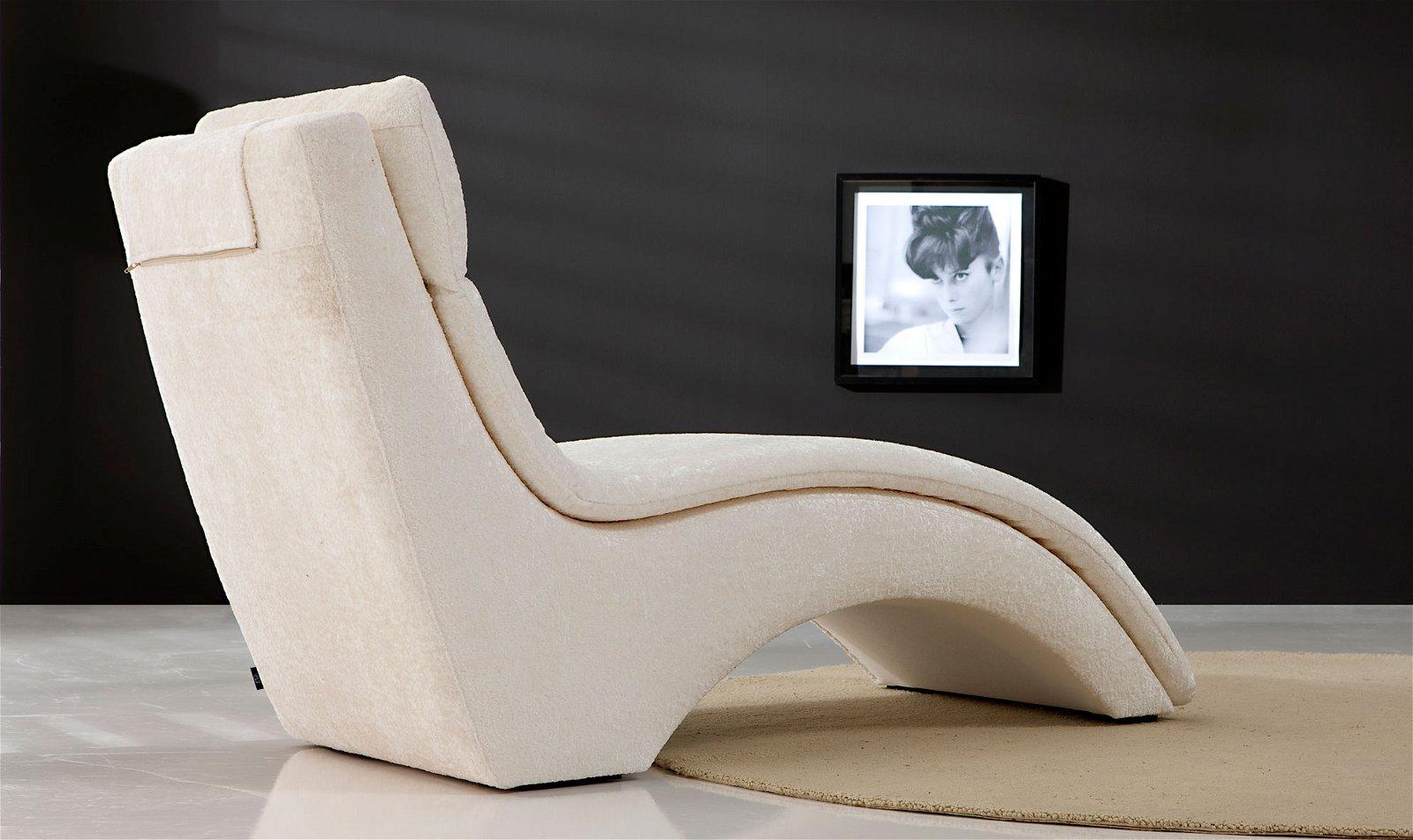 Chaise longue Moderna Mila