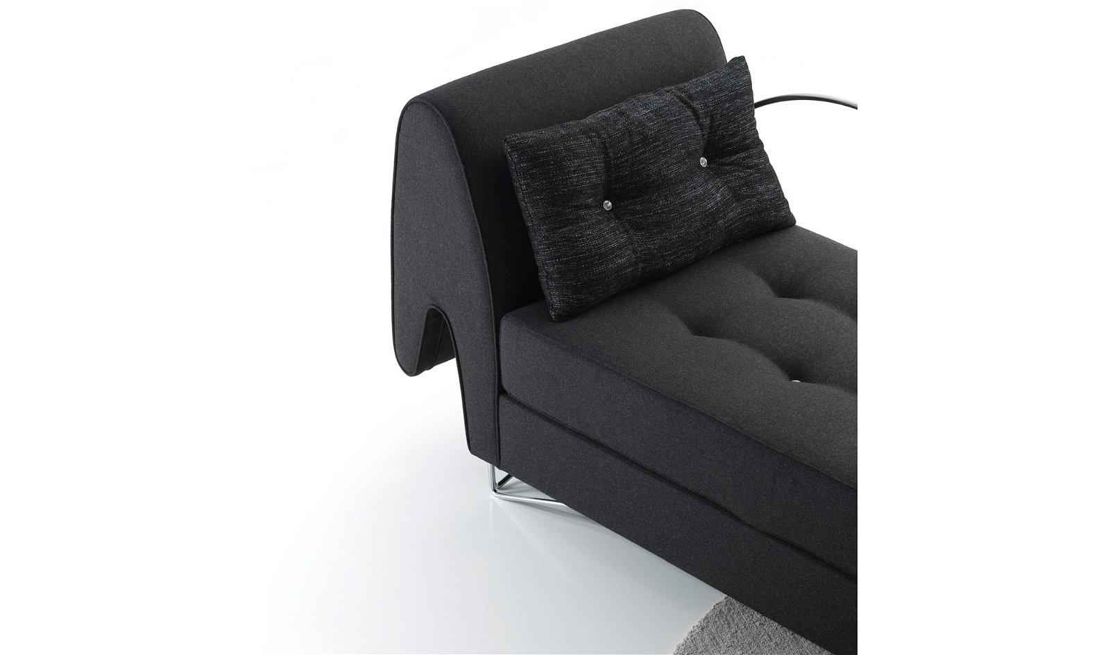 Chaise longue moderno Saurio