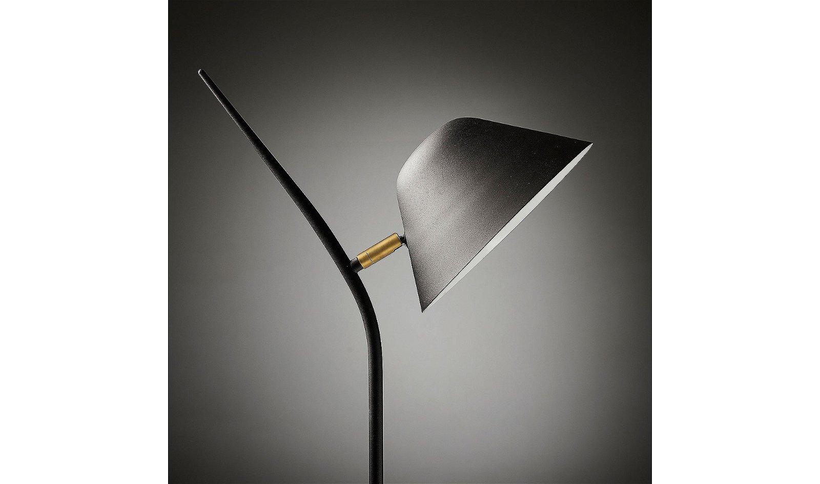 Lámpara de Pie  Mysti Negra