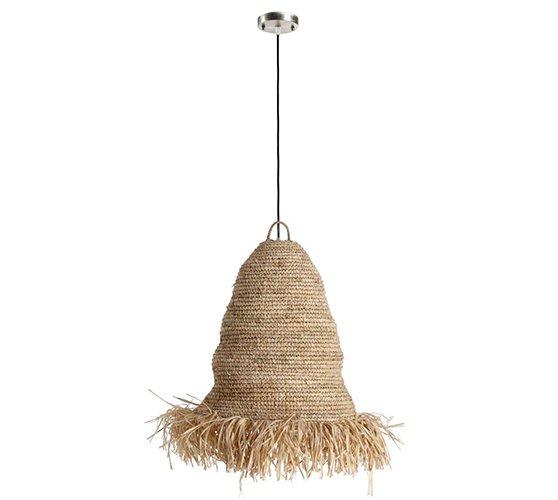 Lámpara de techo fibras naturales Siane