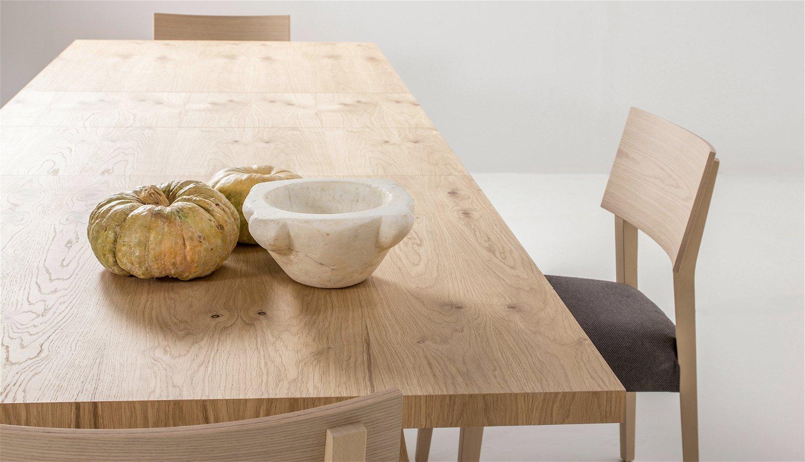 Mesa de comedor extensible madera Carin