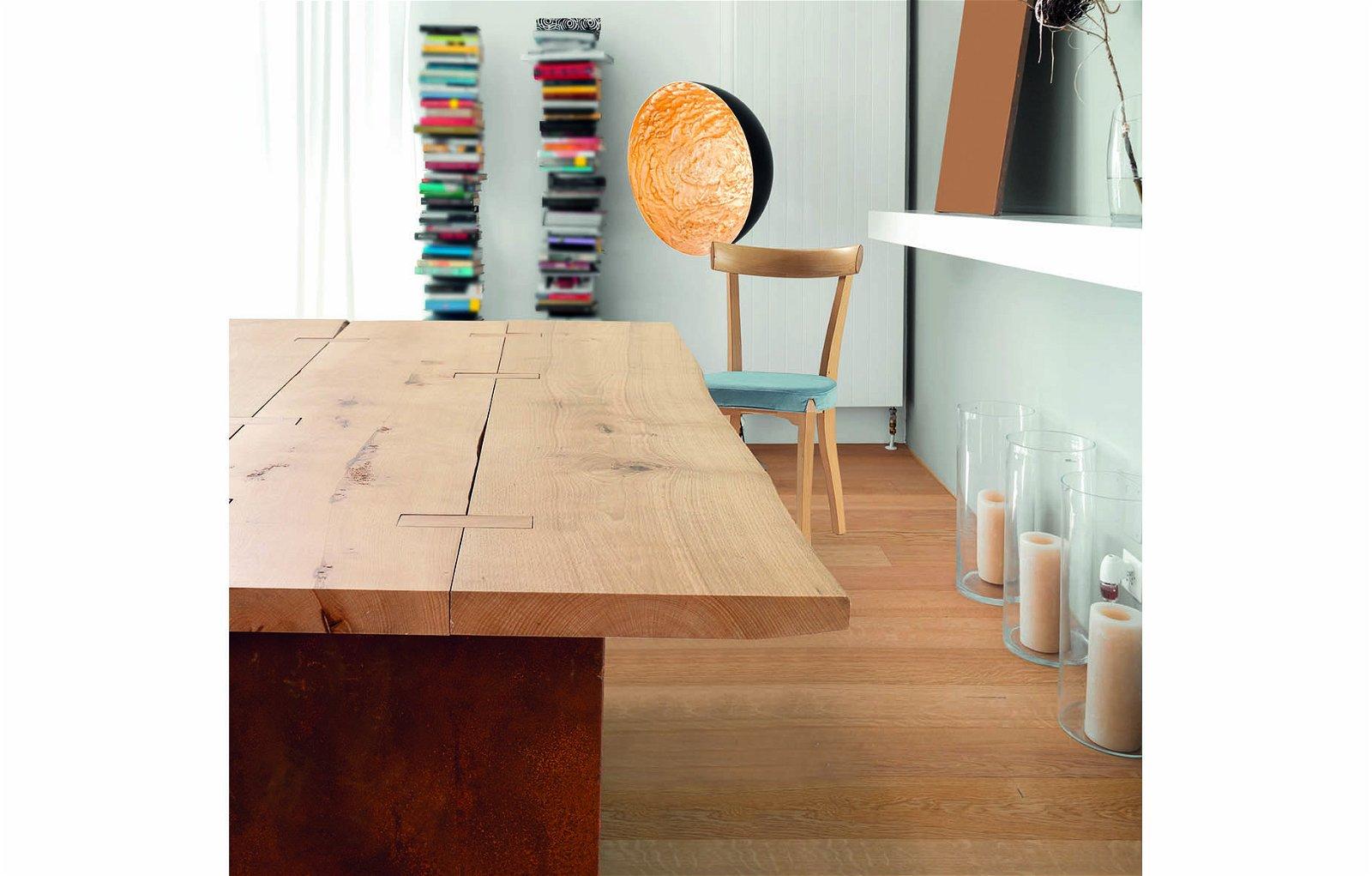 Mesa de comedor tablero natural May