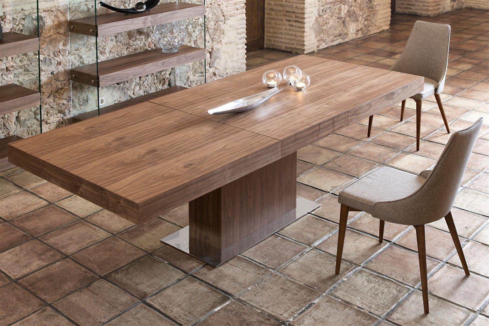 Mesa de comedor extensible Moderna Tarqui