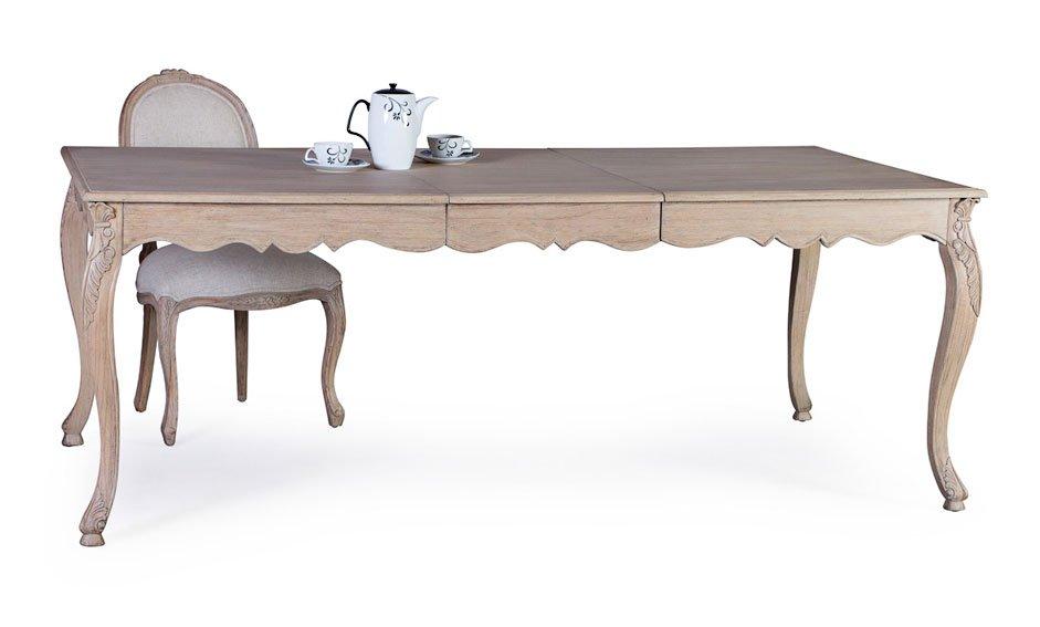Mesa de comedor extensible vintage Artisan