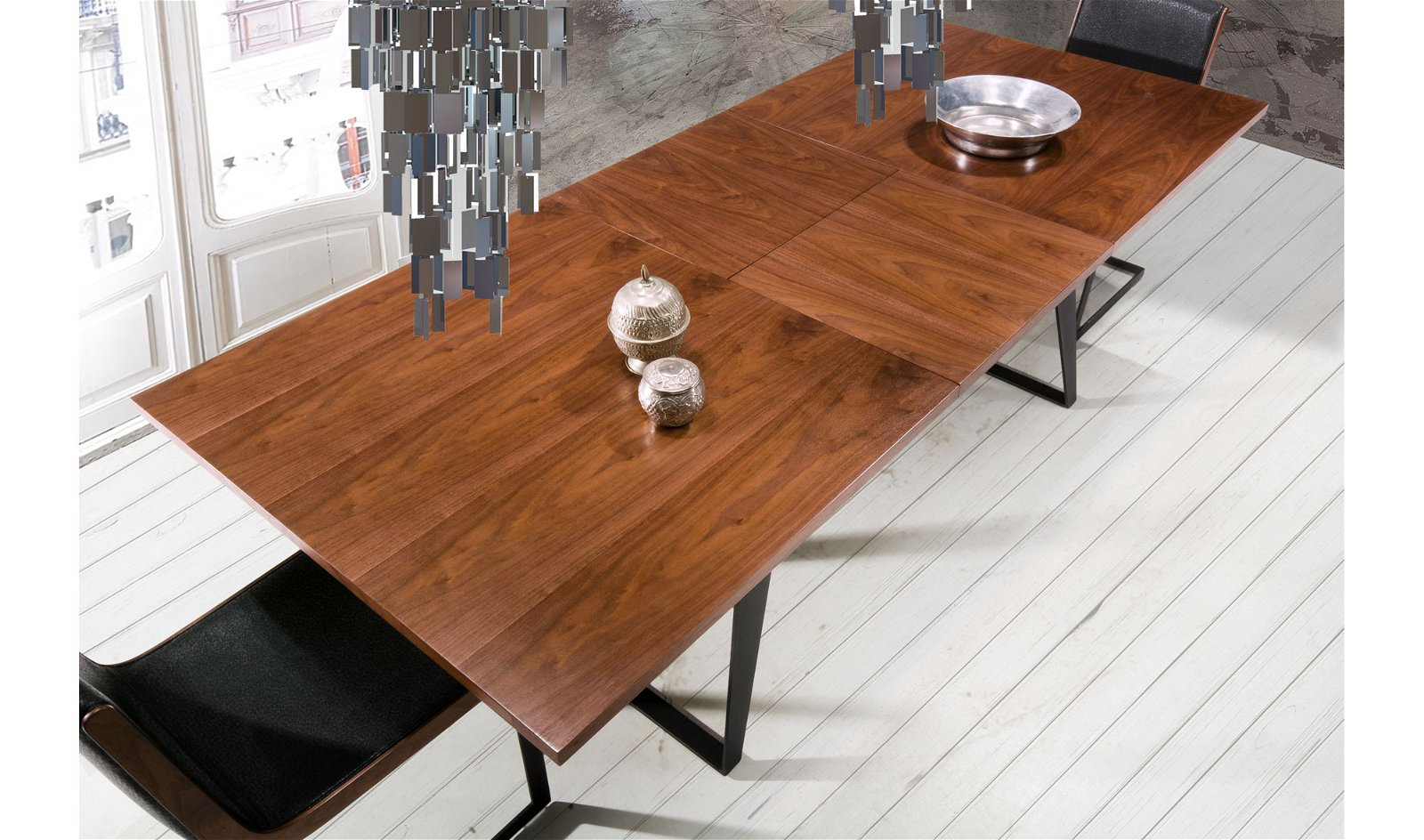 Mesa de comedor industrial Namtok