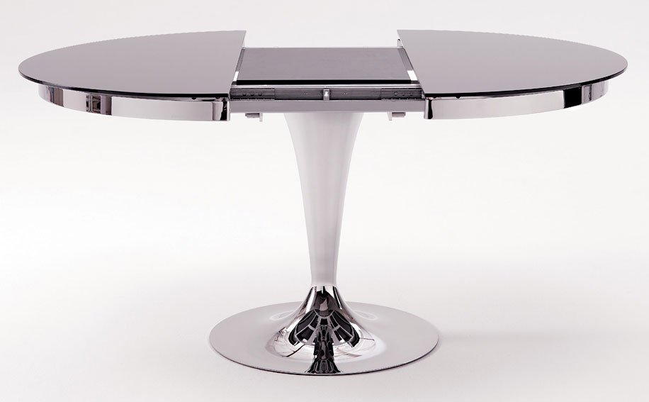 Mesa de comedor extensible laca Moderna Eclipse