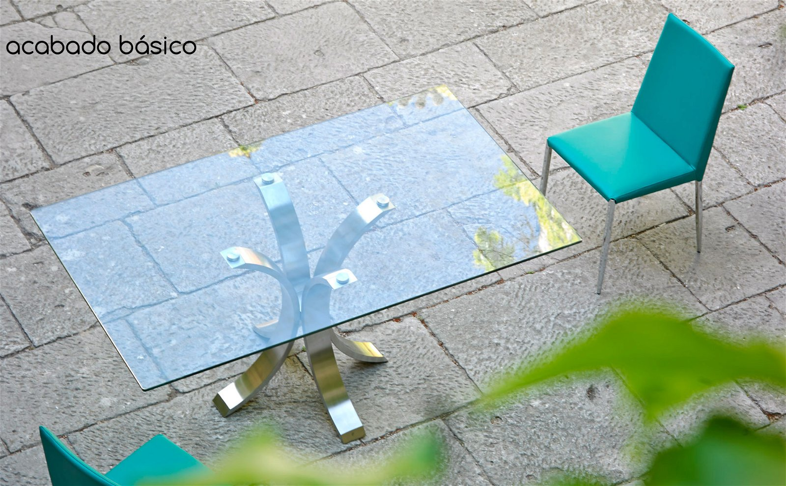 Mesa de comedor rectangular Moderna Maddo