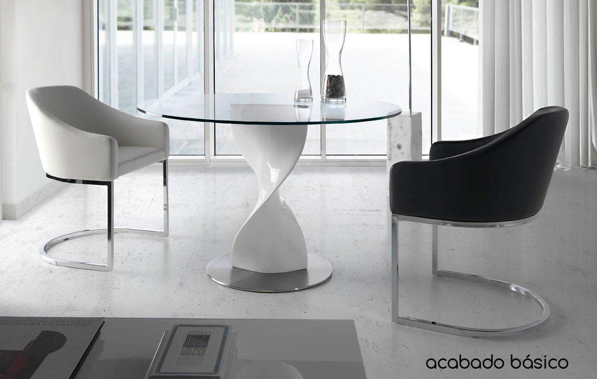 Mesa de comedor redonda Moderna Dendre