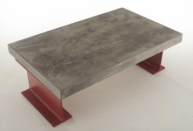Mesa de Centro Vintage tapa gruesa Rutilo