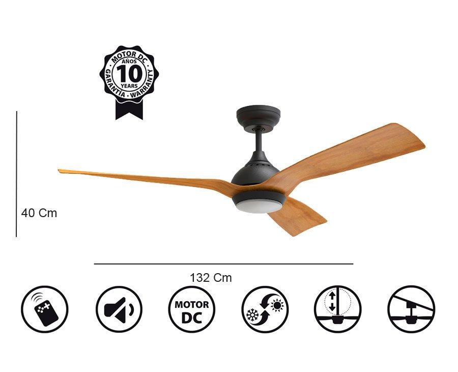 Ventilador waterwind Light