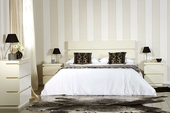 Dormitorio Belagio Blanco - White Sleeping Room Belagio