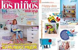 Revista Extra los niños de mi casa