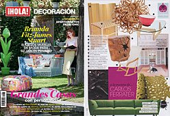 Revista Hola-Decoración