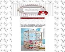 """Una cama de cuento para tu princesa en """"Ideas y Moda para niños chic"""""""
