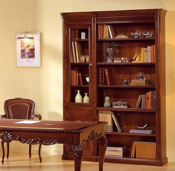 Librería con Vitrina