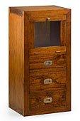 Mueble Combi Auxiliar 1 puerta abatible 3 cajones