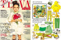 Revista Telva Niños