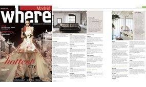 Revista Where Madrid