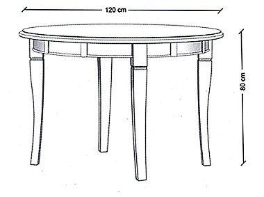 Mesa de Comedor Madagascar circular