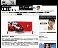 Aparador pintado a mano con Portobello en fair-paly.dtlux.com