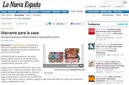 Vuelve el Macramé con Portobello en La Nueva España