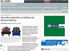 Butacas clásicas revitalizadas con Portobello en el País