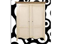 Armario 2 puertas 2 estantes ajustables