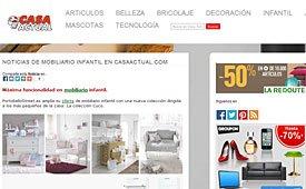 Mobiliario infantil con portobello en casaactual.com