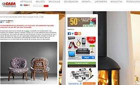Muebles Inspirados en los 60 con aire renovado con Portobello en casaactual.com