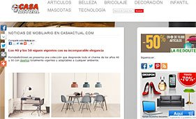 Los 40 y 50 siguen vigentes con Portobello en casaactual.com