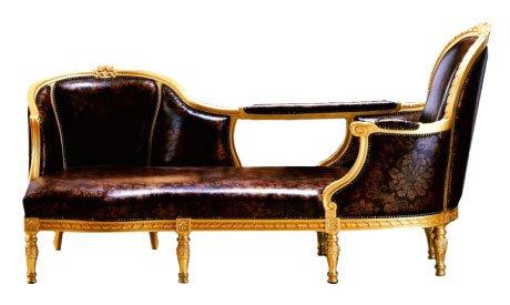 Chaise-Longue Desade Stampa Oro
