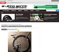 Una bicicleta estatica diferente con Portobello en ultimosprint.com
