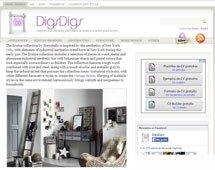 Colección erutna con Portobello en digsdigs.com