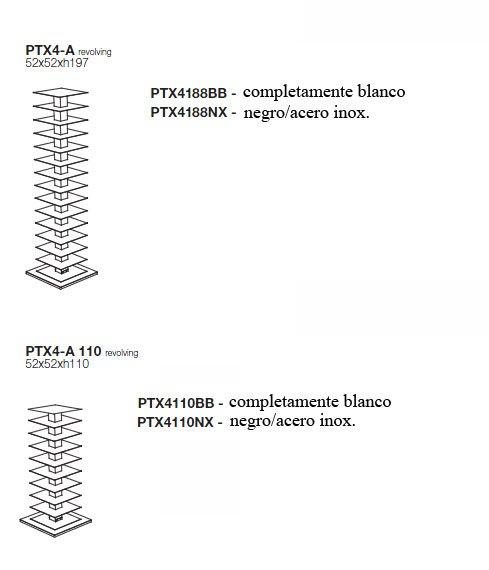 Librería giratoria Ptolomeo X4 A