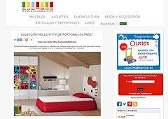 Colección Hello Kitty de PortobelloStreet en Cucaboo.com