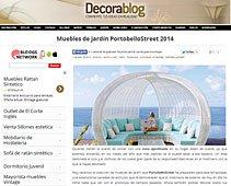 Mueble de jardín para 2014 con Portobello en decorablog.com