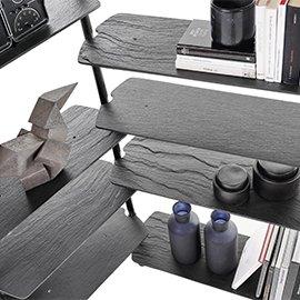 Muebles y decoración en gris