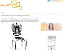 Muebles de metacrilato con Portobello